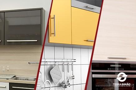 Saiba quais são as opções de revestimento para o armário da cozinha