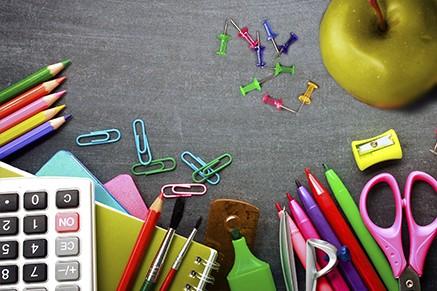 Como organizar o material escolar usado para o ano que vem